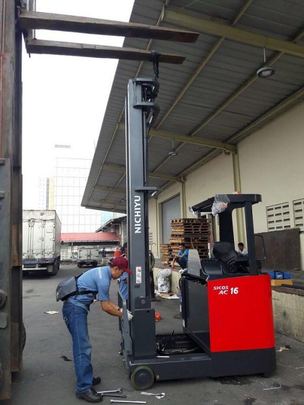 Reach Truck Nichiyu 1.6 Ton